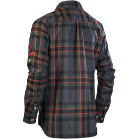 Cube Work Shirt longsleeve Herr black'n'red